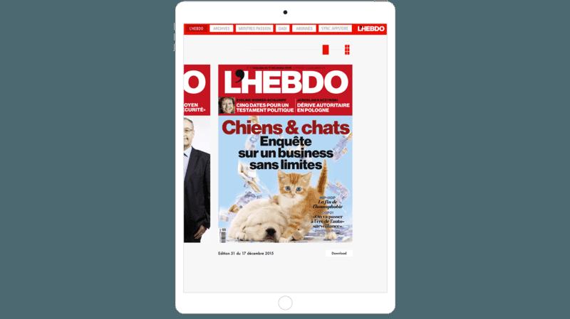 E-Paper mag et iPad