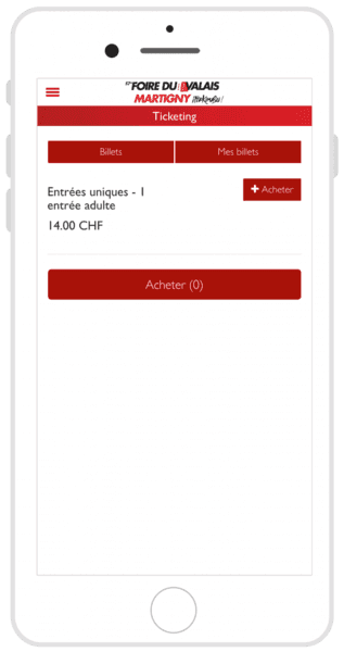 FVS Group ticketing auf mobile