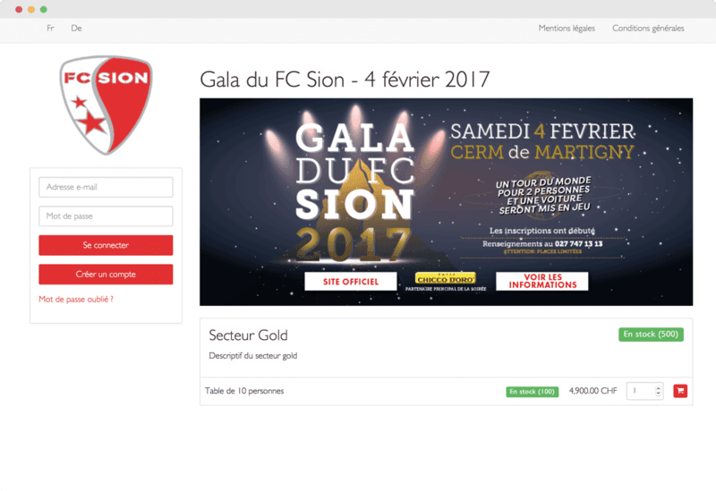 Billetterie-print@home Gala FC Sion